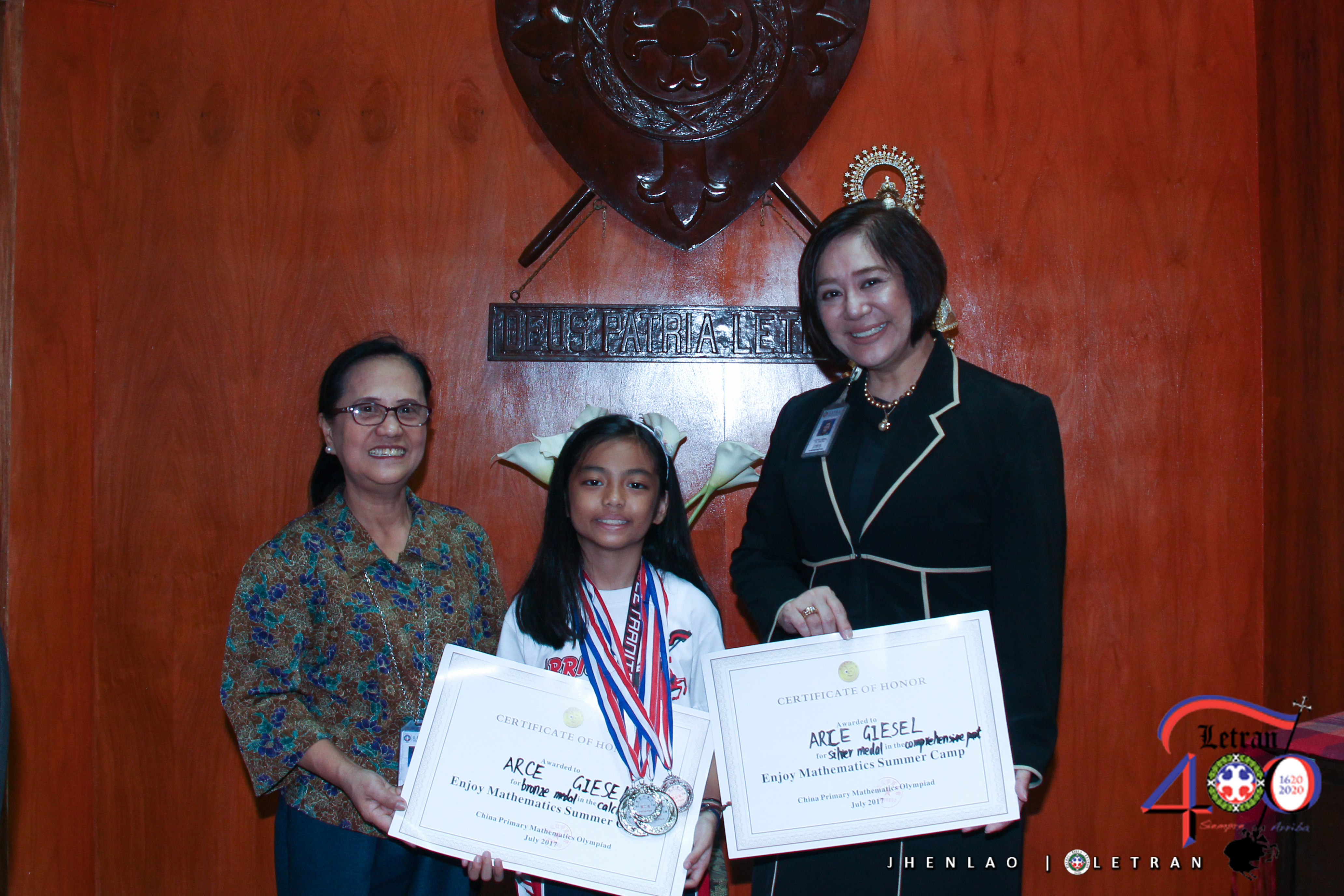 Grade Four student wins in China Primary Math Olympiad